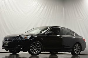 2014 Honda Accord Sedan Sport Carfax 1-Owner Air Conditioning  AC Air Conditioning  Climate C