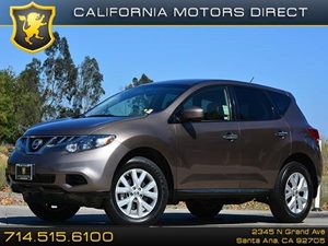 2013 Nissan Murano S Carfax 1-Owner 18 Aluminum Alloy Wheels Air Conditioning  AC Air Condi