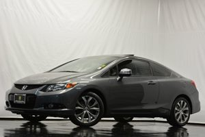 2012 Honda Civic Cpe Si Carfax 1-Owner Air Conditioning  AC Audio  Auxiliary Audio Input Aud