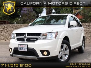 2012 Dodge Journey SXT Carfax Report 3Rd Row Seat Air Conditioning  AC Audio  Auxiliary Audi