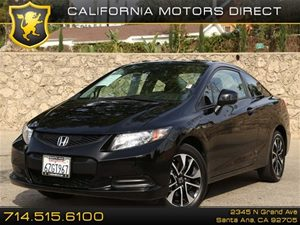 2013 Honda Civic Cpe EX Carfax 1-Owner - No Accidents  Damage Reported to CARFAX Air Conditionin