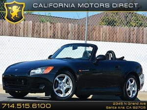2001 Honda S2000  Carfax Report - No Accidents  Damage Reported to CARFAX Air Conditioning  AC