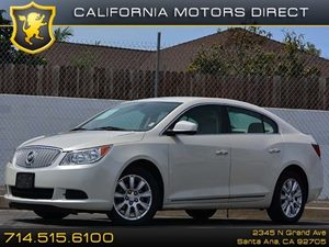 2012 Buick LaCrosse Convenience Carfax 1-Owner - No Accidents  Damage Reported to CARFAX Air Con