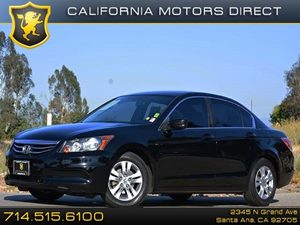 2012 Honda Accord Sdn SE Carfax 1-Owner Air Conditioning  AC Audio  Auxiliary Audio Input Au