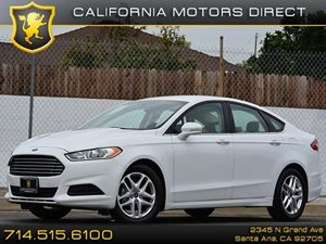 2013 Ford Fusion SE Carfax 1-Owner  Oxford White CLEAN TITLE 18691 Per Month - On Approve
