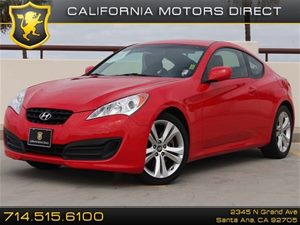 2010 Hyundai Genesis Coupe  Carfax Report  Tsukuba Red  All advertised prices exclude governme