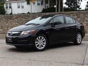 2012 Honda Civic Sdn EX-L Carfax 1-Owner - No Accidents  Damage Reported to CARFAX Air Condition