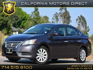 2014 Nissan Sentra S Carfax 1-Owner - No Accidents  Damage Reported to CARFAX Air Conditioning