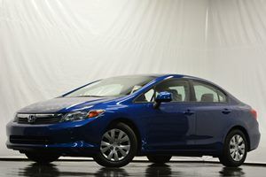 2012 Honda Civic Sdn LX Carfax 1-Owner - No Accidents  Damage Reported to CARFAX Air Conditionin
