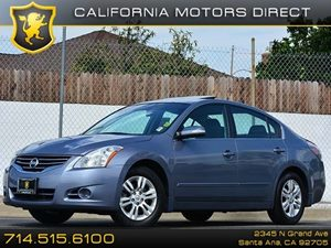 2012 Nissan Altima 25 S Carfax 1-Owner Air Conditioning  AC Audio  Auxiliary Audio Input Co