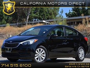 2015 Kia Forte LX Carfax 1-Owner - No Accidents  Damage Reported to CARFAX Air Conditioning  A