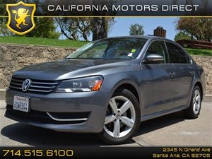 2012 Volkswagen Passat SE Carfax 1-Owner - No Accidents  Damage Reported to CARFAX Air Condition