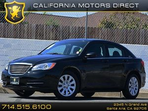 2014 Chrysler 200 LX Carfax 1-Owner - No Accidents  Damage Reported to CARFAX Air Conditioning