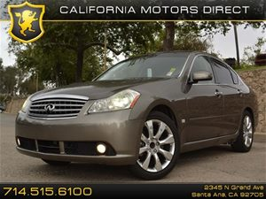 2006 Infiniti M35  Carfax Report - No Accidents  Damage Reported to CARFAX U01 Technology Pkg