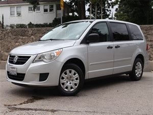 2009 Volkswagen Routan S Carfax Report - No Accidents  Damage Reported to CARFAX 16 Steel Whee