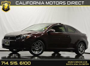 2009 Scion tC  Carfax Report Air Conditioning  AC Audio  Auxiliary Audio Input Audio  Premi