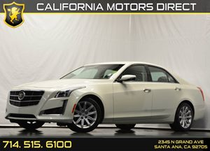 2014 Cadillac CTS Sedan RWD Carfax 1-Owner Air Conditioning  AC Air Conditioning  Climate Con