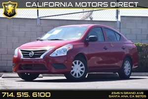 2015 Nissan Versa  Carfax 1-Owner Air Conditioning  AC Audio  Auxiliary Audio Input Audio