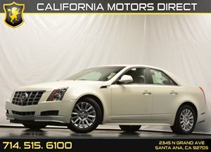 2012 Cadillac CTS Sedan Luxury Carfax Report Air Conditioning  AC Audio  Auxiliary Audio Inpu