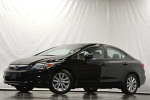 2012 Honda Civic Sdn EX-L Carfax 1-Owner Air Conditioning  AC Audio  Auxiliary Audio Input A