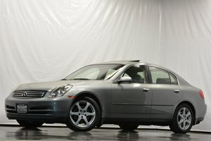 2004 Infiniti G35 Sedan  Carfax 1-Owner Air Conditioning  AC Air Conditioning  Climate Contro