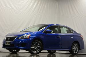 2014 Nissan Sentra SR Carfax 1-Owner - No Accidents  Damage Reported to CARFAX  Metallic Blue