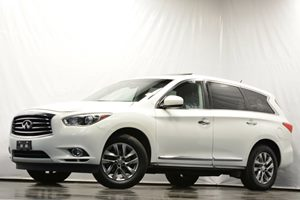 2013 Infiniti JX35  Carfax Report - No Accidents  Damage Reported to CARFAX Air Conditioning  A