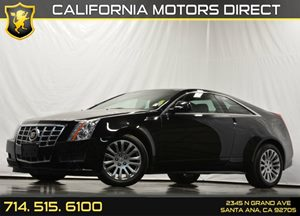 2013 Cadillac CTS Coupe  Carfax 1-Owner - No Accidents  Damage Reported to CARFAX Air Conditioni