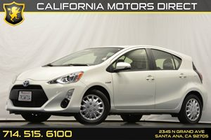 2015 Toyota Prius c Two Carfax 1-Owner - No Accidents  Damage Reported to CARFAX Air Conditionin