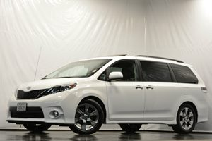 2013 Toyota Sienna SE Carfax 1-Owner Air Conditioning  AC Air Conditioning  Climate Control