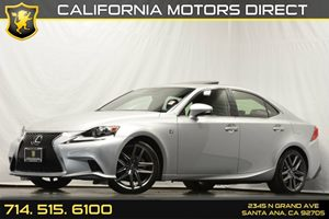 2014 Lexus IS 250 F Sport Pkg Carfax 1-Owner Air Conditioning  AC Audio  AmFm Stereo Audio
