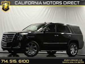 2015 Cadillac Escalade Luxury Carfax 1-Owner - No Accidents  Damage Reported to CARFAX Air Condi