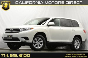 2013 Toyota Highlander  Carfax 1-Owner 17 7-Spoke Alloy Wheels Air Conditioning  AC Audio