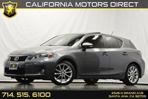 2013 Lexus CT 200h Hybrid Carfax 1-Owner - No Accidents  Damage Reported to CARFAX Air Condition