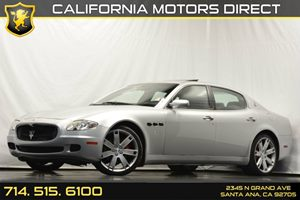 2007 Maserati Quattroporte  Carfax Report Air Conditioning  AC Audio  AmFm Stereo Audio  P