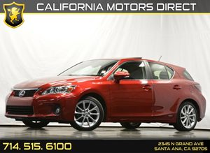 2012 Lexus CT 200h  Carfax 1-Owner - No Accidents  Damage Reported to CARFAX Air Conditioning