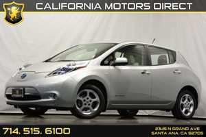 2012 Nissan LEAF SL Carfax 1-Owner - No Accidents  Damage Reported to CARFAX 5-Spoke 16 Alloy