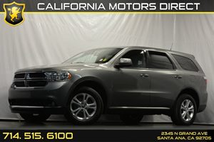 2012 Dodge Durango SXT Carfax 1-Owner Audio  Auxiliary Audio Input Convenience  Automatic Head