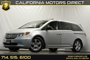 2012 Honda Odyssey Touring Carfax 1-Owner Audio  Auxiliary Audio Input Audio  Premium Sound Sy