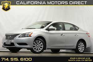 2014 Nissan Sentra SV Carfax 1-Owner - No Accidents  Damage Reported to CARFAX Air Conditioning