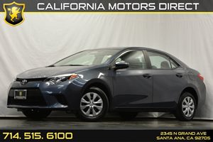 2015 Toyota Corolla L Carfax 1-Owner - No Accidents  Damage Reported to CARFAX Audio  Auxiliary