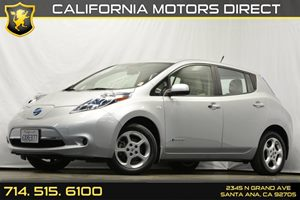 2012 Nissan LEAF SV Carfax 1-Owner - No Accidents  Damage Reported to CARFAX 5-Spoke 16 Alloy