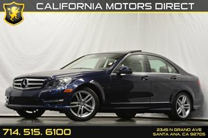 2013 MERCEDES C250 Luxery Carfax 1-Owner Anti-Theft Alarm System Audio  Auxiliary Audio Input