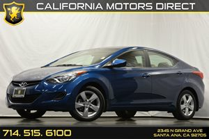 2013 Hyundai Elantra GLS Carfax 1-Owner - No Accidents  Damage Reported to CARFAX 4-Wheel Anti-L