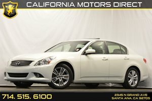 2013 Infiniti G37 Sedan Journey Carfax 1-Owner Convenience  Automatic Headlights Convenience