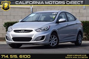 2014 Hyundai Accent GLS Carfax 1-Owner Audio  Auxiliary Audio Input Convenience  Automatic Hea