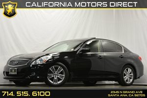 2013 Infiniti G37 Sedan Journey Carfax 1-Owner - No Accidents  Damage Reported to CARFAX Audio