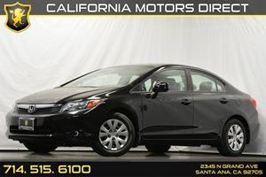 2012 Honda Civic Sdn LX Carfax 1-Owner - No Accidents  Damage Reported to CARFAX 4-Wheel Anti-Lo