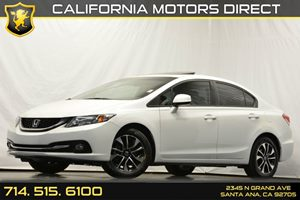 2013 Honda Civic Sdn EX-L Carfax 1-Owner - No Accidents  Damage Reported to CARFAX 4-Wheel Anti-