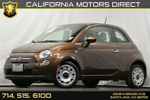 2012 FIAT 500 Pop Carfax 1-Owner - No Accidents  Damage Reported to CARFAX Air Conditioning  A